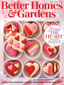 Better Homes and Gardens Magazine, February 2020