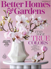 Better Homes and Gardens Magazine, April 2020