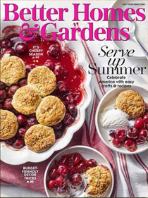 Better Homes and Gardens Magazine, July 2020