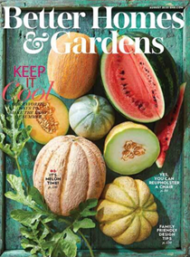 Better Homes and Gardens Magazine, August 2020