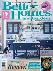 Better Homes and Gardens Magazine, September 2020