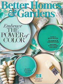 Better Homes and Gardens Magazine, April 2021