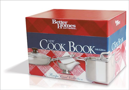 Better Homes and Gardens New Cook Book: Recipe Card Collection: 200 of the Best Recipes