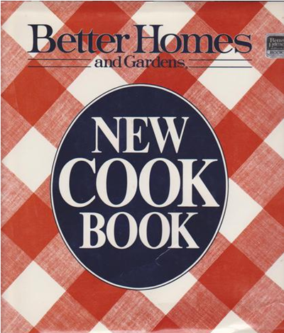 Better Homes and Gardens New Cook Book, 9th Edition
