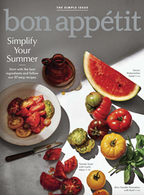 Bon Appétit Magazine, August 2018: The Simple Issue
