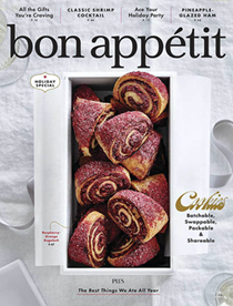 Bon Appétit Magazine, Dec 2018/Jan 2019: Holiday Special