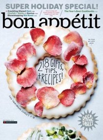 Bon Appétit Magazine, December 2014: Super Holiday Special!