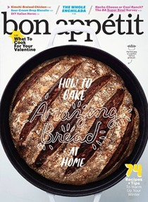 Bon Appétit Magazine, February 2016: The Winter Comfort Issue