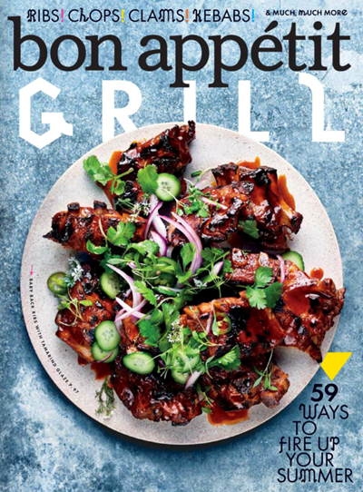 Bon Appétit Magazine, June 2017: The Grilling Issue