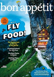 Bon Appétit Magazine, May 2015: The Travel Issue