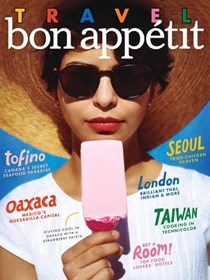 Bon Appétit Magazine, May 2017: The Travel Issue