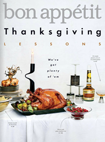 Bon Appétit Magazine, November 2017: The Thanksgiving Issue