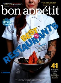 Bon Appétit Magazine, September 2014: The Restaurant Issue