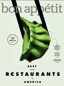 Bon Appétit Magazine, September 2017: The Restaurant Issue