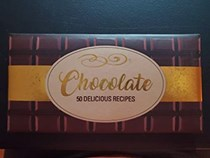 Chocolate: 50 Delicious Recipes (booklet shaped like large chocolate bar)
