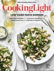 Cooking Light Magazine, April 2018