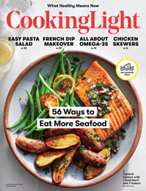 Cooking Light Magazine, August 2018: The Seafood Issue