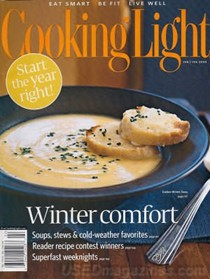 Cooking Light Magazine, Jan/Feb 2008