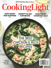 Cooking Light Magazine, March 2018