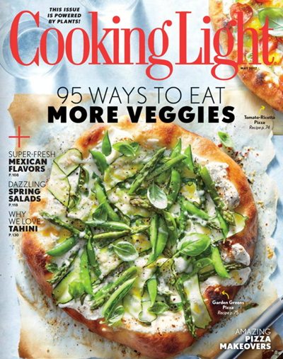 Beautiful Cooking Light Magazine, May 2017 Pictures