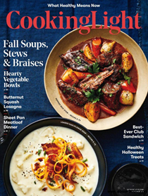 Cooking Light Magazine, October 2018