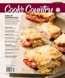 Cook's Country Magazine, Oct/Nov 2018
