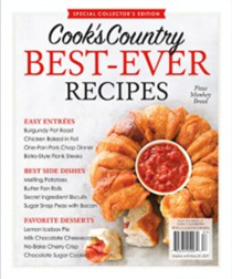 Cook's Country Magazine Special Issue: Best-Ever Recipes (2017): Special Collector's Edition