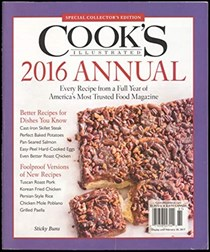 Cooks Illustrated 2016 Annual