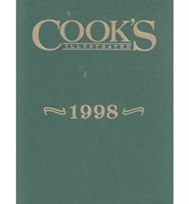 Cook's Illustrated Annual Edition 1998