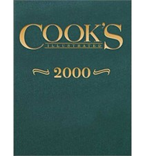 Cook's Illustrated Annual Edition 2000