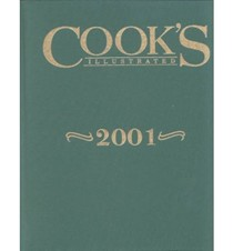 Cook's Illustrated Annual Edition 2001