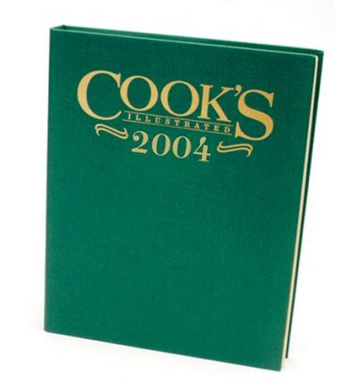 Cook's Illustrated Annual Edition 2004
