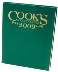 Cook's Illustrated Annual Edition 2009