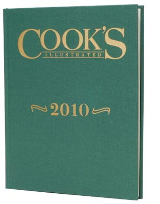 Cook's Illustrated Annual Edition 2010