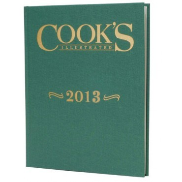 Cook's Illustrated Annual Edition 2013