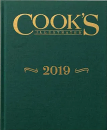 Cook's Illustrated Annual Edition 2019