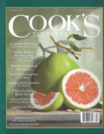 Cook's Illustrated Magazine, Jan/Feb 2020