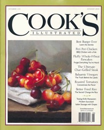 Cook's Illustrated Magazine, Jul/Aug 2015