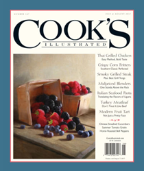 Cook's Illustrated Magazine, Jul/Aug 2017