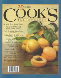 Cook's Illustrated Magazine, Jul/Aug 2019