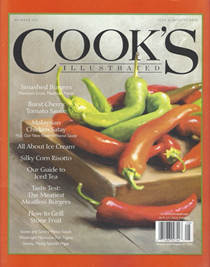 Cook's Illustrated Magazine, Jul/Aug 2020