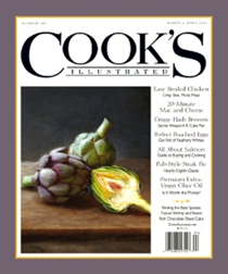 Cook's Illustrated Magazine, Mar/Apr 2017