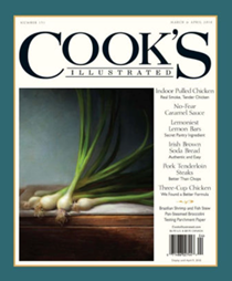 Cook's Illustrated Magazine, Mar/Apr 2018
