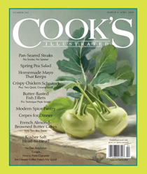 Cook's Illustrated Magazine, Mar/Apr 2020