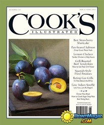Cook's Illustrated Magazine, May/Jun 2016