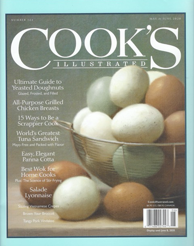 Cook's Illustrated Magazine, May/Jun 2020