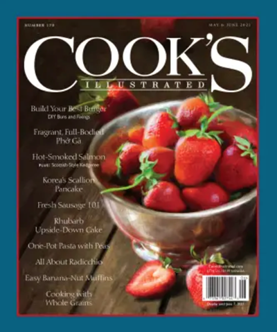 Cook's Illustrated Magazine, May/Jun 2021