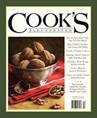 Cook's Illustrated Magazine, Nov/Dec 2013