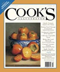 Cook's Illustrated Magazine, Sep/Oct 2003