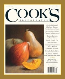 Cook's Illustrated Magazine, Sep/Oct 2013
